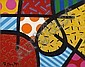 Britto, Romero 1963 Recife/Brazil Untitled.Oil on, Romero Britto, Click for value