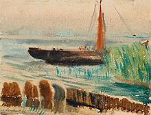 LACHNIT, WILHELM Dresden 1899 - 1962 Segelboot am