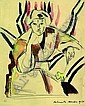 Portrait of Mrs Hoff., Helmuth Macke, Click for value