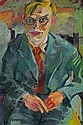 Man´s portrait., Karl Lohse, Click for value