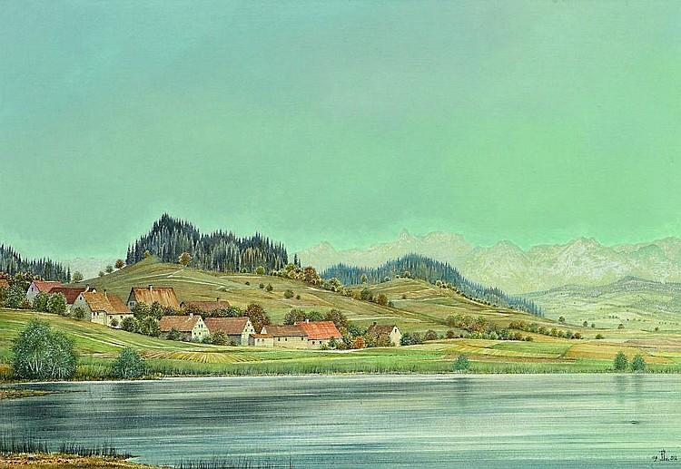 Upper Swabian landscape.