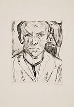 BECKMANN, MAX 1884 Leipzig - 1950 New York Self