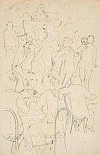 GROSZ, GEORGE Berlin 1891 - 1959 Dance Café. Ca.