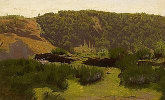 Achenbach, OswaldDüsseldorf 1827 - 1905 Landscape Study.