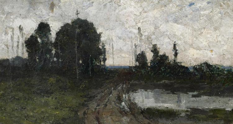 Eichelberger, Robert - 1861 Urbana/Ohio - 1890 - Herbstlandschaft