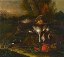Weenix, Jan d.J. - um 1640 Amsterdam - vor 1719 Amsterdam - Jagdstillleben