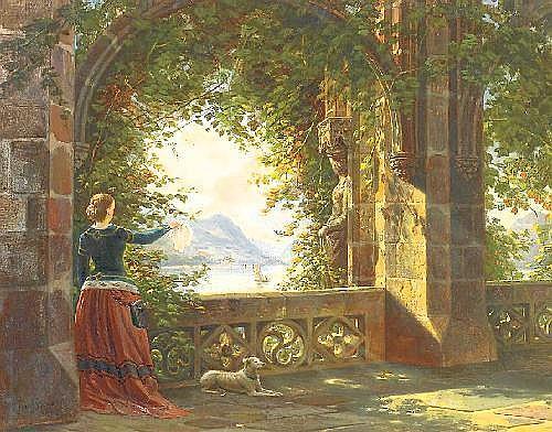 Stegmann, Franz Walter 1831 Gandersheim - 1892 Düsseldorf