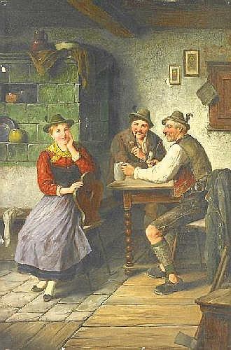 Ostersetzer, Carl 1865 Brody - 1914 VIenna