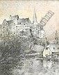 Rüdell, Carl 1855 Trier - 1939 Cologne  Limburg by the Lahn., Carl Rüdell, Click for value