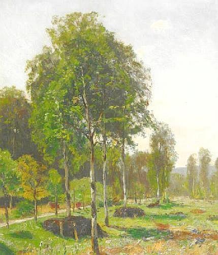 Irmer, Carl 1834 Babitz - 1900 Düsseldorf  Idyllic summerday.