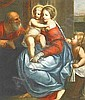 Crayer, Gaspard de 1584 Antwerpen - 1669 Gent - Circle  Holy Family with the boy John., Gaspard De Crayer, Click for value