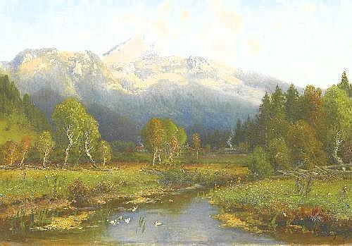 Schoyerer, Josef 1844 Berching - 1923 Munich  Wenzelstein.