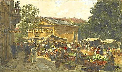 Andorff, Paul 1849 Weimar - 1920 Frankfurt/Main  Berlin.