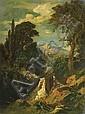 Schirmer, Johann Wilhelm 1807 Jülich - 1863 Karlsruhe - attributed  Italian landscape., Johann Wilhelm Schirmer, Click for value
