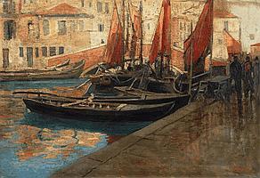 Esposito, Cesare 1886 Naples - 1943 Genua On a