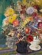 Berke, Hubert 1908 Buer - 1979 Cologne  Flower still life., Hubert Berke, Click for value