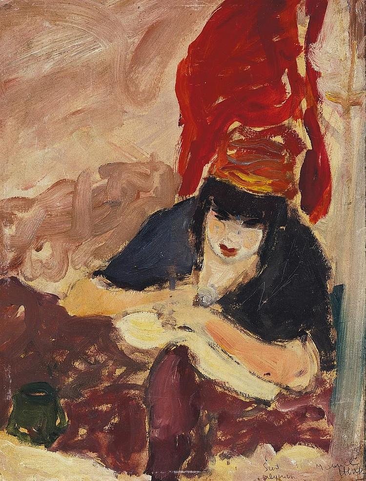Hensel, Maurice-Henri 1890 Paris - ?  Femme du Sud algérien.