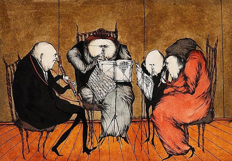 Degenhardt, Gertrude 1940 New York  Chamber Quartet.