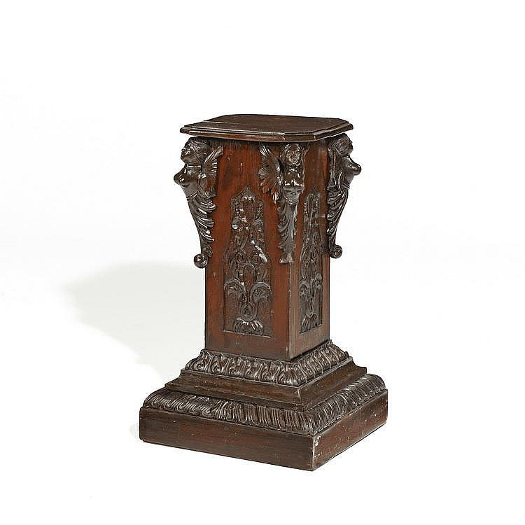 Early Baroque Pedestal. Germany. 17th C.