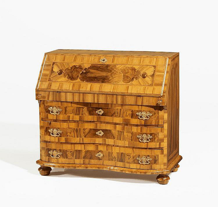 Baroque Writing Chest. Braunschweig. 18th C.