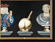 DELCOL Roland (1942). Huile sur toile Composition