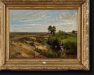 FOURMOIS Théodore (1814-1871). Huile sur toile