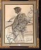 VAN ZEVENBERGHEN Georges (1877-1968). Gentleman, Georges Antoine
