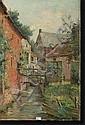 STOBBAERTS Pieter (1865-1948). Huile sur toile, Pieter Stobbaerts, Click for value