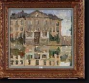 BAERTSOEN Albert (1866-1922). Huile sur toile