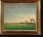 COPPENS Frans (1895-1975). Huile sur toile
