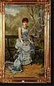 STEVENS Agapit (1849-1917) (?). Huile sur toile, Agapit Stevens, Click for value