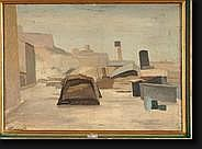 CATARGI Henri (1894-1976). Huile sur toile