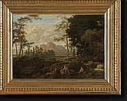 GLAUBER Johannes (vers 1646-vers 1726). Huile sur