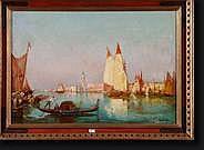 MANAGO Vincent (1880-1936). Huile sur toile