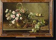 CRESPIN Adolphe (1859-1944). Huile sur toile