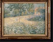 PROOST Alfons (1880-1957). Huile sur toile