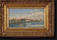 DELSAUX Willem (1862-1945). Huile sur toile