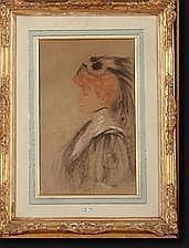 MELCHERS FRanz Marie (1868-1944). La modiste,