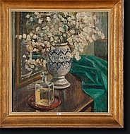 SCOUPREMAN Pierre (1873-1960). Huile sur toile Les
