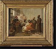 STARCK Julius Joseph Gaspar (1814-1884). Huile sur