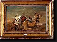 HUYSMANS Jan Baptist (1826-1906). Huile sur toile