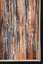 GERARD Paul (1931). Huile sur toile S.O.S. N°406.