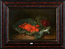 """HUYGENS François Joseph (1820 - 1908) Huile sur toile marouflée sur toile """""""