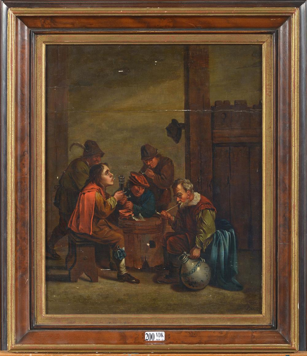 Tableaux SION Peeter (1624 - 1695). (?).
