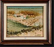 SEMENTZEFF Michel (1933). Huile sur toile