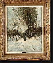 VOGELS Guillaume (1836-1896). Huile sur toile