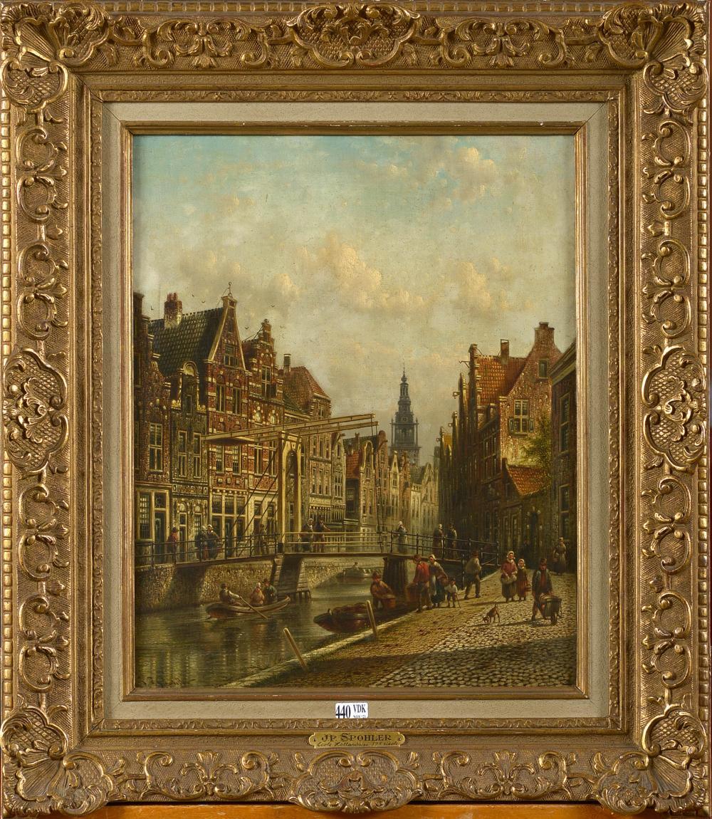 Tableaux SPOHLER Jacob Jan Coenraad (1837 - 1922)