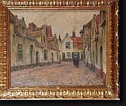 VIERIN Emmanuel (1869-1954). Huile sur toile