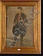 MELLERY Xavier (1845-1921). Huile sur toile