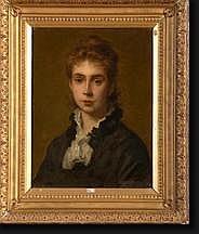 AGNEESSENS Edouard (1842-1885). Huile sur toile